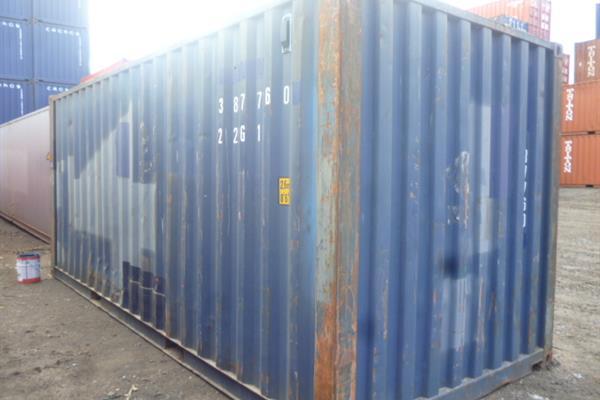 20 foot used shipping container Taranaki