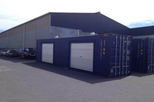 40' Northport Shipping Container - Roller Door
