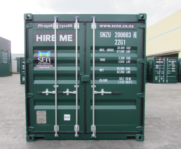 20FT Shipping Container – One Trip, A Grade Green Container