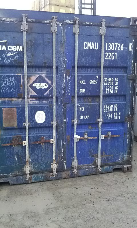 Shipping Container 20FT – Napier